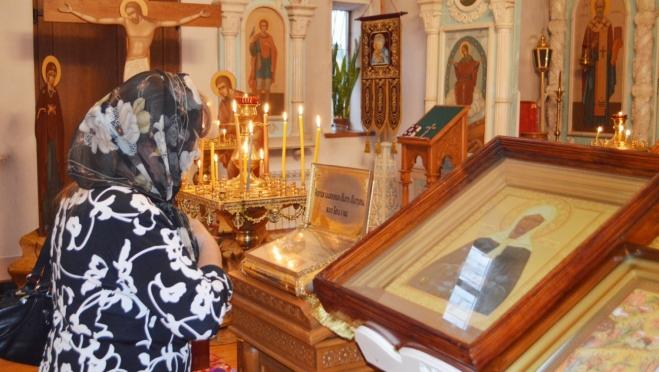 Мощи святой перевезли в Горномарийское благочиние