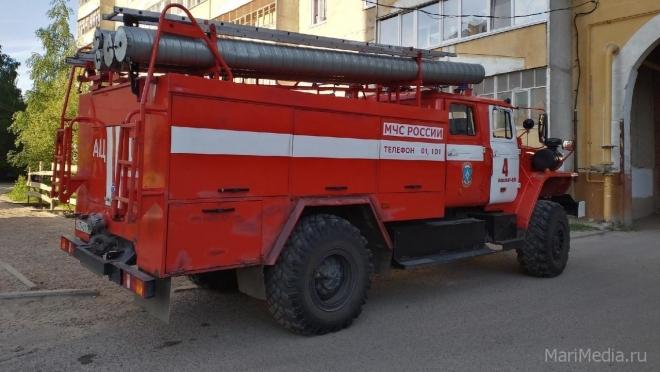 Автопарк лесоохраны до конца года получит две лесопожарные автоцистерны