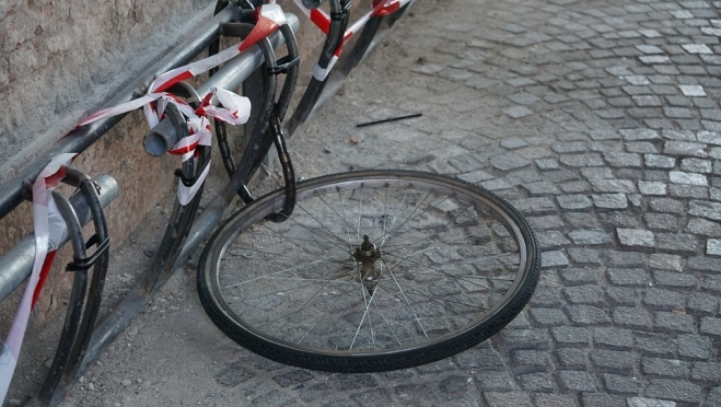 В Медведево замки не уберегли велосипеды от угона