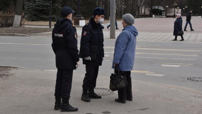 Жителей Йошкар-Олы начали штрафовать за нахождение в общественном месте без причины