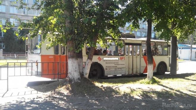 В Йошкар-Оле троллейбусы будут оставаться на линии до 22:00