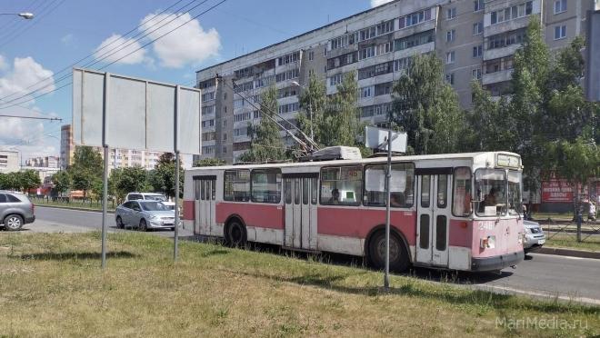 В троллейбусах Йошкар-Олы стоимость проезда снизилась до 15 рублей за поездку