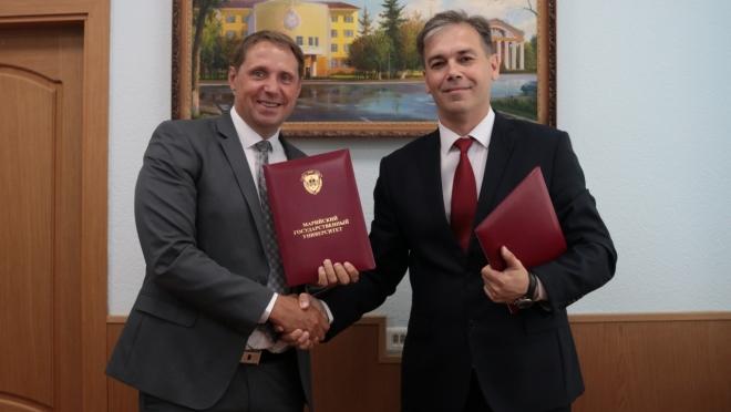 Сотрудничество МарГУ и Почты России