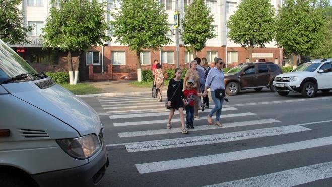 И водители, и пешеходы нарушили ПДД в ходе операции «Пешеход»