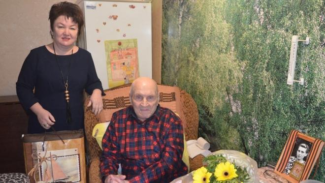 В Марий Эл ветеран Великой Отечественной войны отметил вековой юбилей