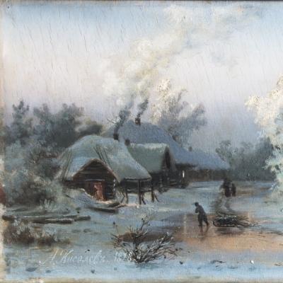 Выставка одного шедевра: Александр Александрович Киселёв «Зимний пейзаж»