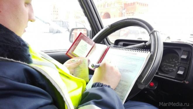 Почти шесть десятков пьяных водителей задержали в Марий Эл в январские праздники