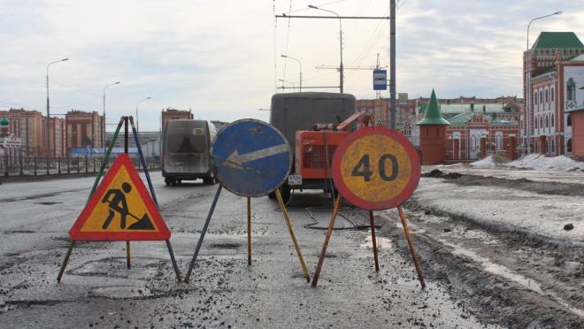 Ямочный ремонт в Йошкар-Оле набирает обороты