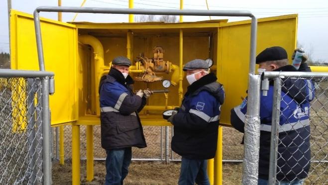 Газовики завершили подготовку системы газоснабжения  к работе в осенне-зимний период
