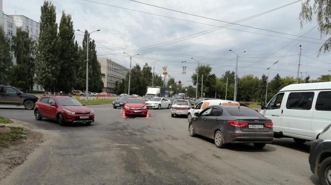 В Йошкар-Оле в ДТП пострадала 4-летняя девочка-пассажир