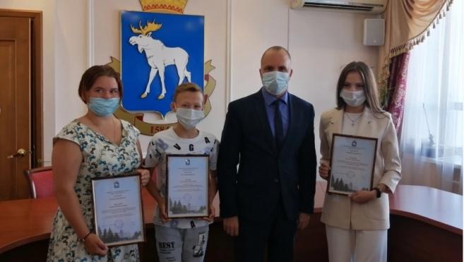 Мэр Йошкар-Олы встретился с молодыми спасателями