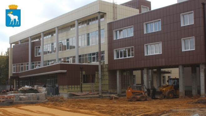 Уже в декабре в Йошкар-Оле  появится новый перинатальный центр
