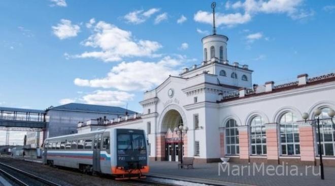 Поезд из Йошкар-Олы в Москву будет ходить по нечетным числам