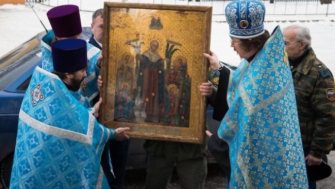 Святыни из Карелии доставили в храмы Волжской епархии