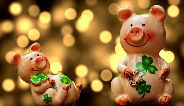 Праздничный стол для Свиньи