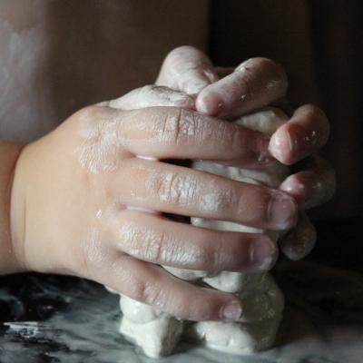 Лепка из натуральной глины