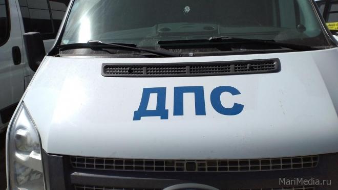 В Волжске иномарка сбила человека, водитель с места ДТП скрылся