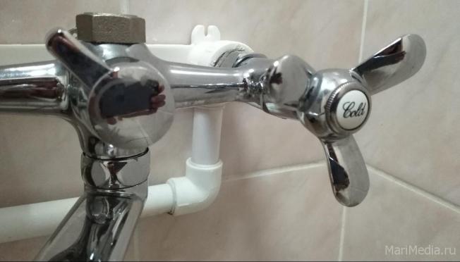 В Йошкар-Оле сегодня будет отключение холодной воды