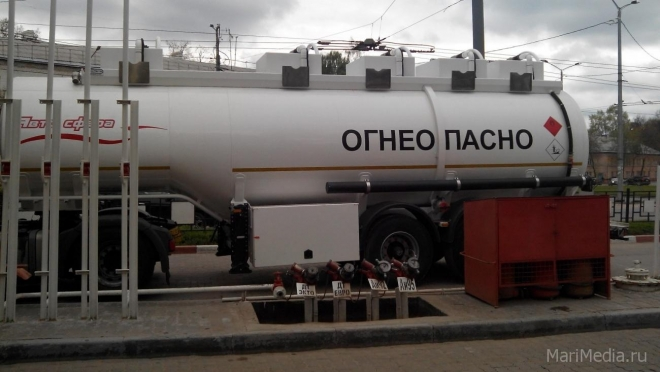 Самый дешёвый бензин в ПФО в Марий Эл