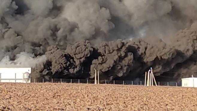 На птицефабрике Параньгинского района утром вспыхнул пожар