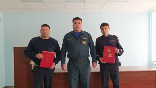 В Звенигово инспекторов ДПС наградили за спасение ребёнка на пожаре