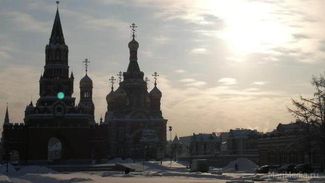 В Йошкар-Оле -24°C, в районах республики – гораздо холоднее