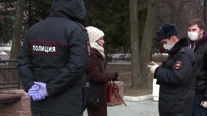 В Йошкар-Оле в выходные 20 человек нарушили режим самоизоляции