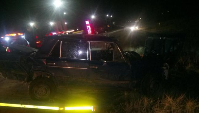 В Марий Эл в кювет перевернулась машина с тремя подростками