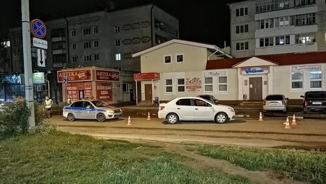 В Йошкар-Оле сбили пенсионерку, переходившую дорогу в неустановленном месте