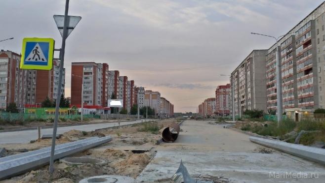 1 ноября планируется открыть улицу Петрова в Йошкар-Оле