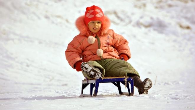 Снежные горки — опасная забава
