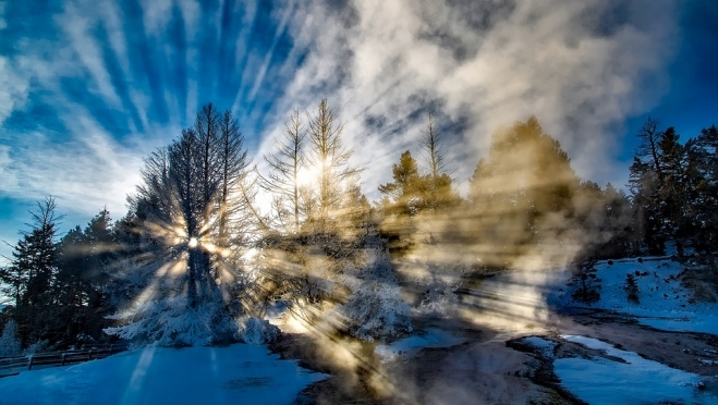 В феврале обещают январские морозы