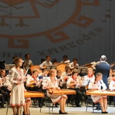 Всемарийский детский оркестр народных инструментов