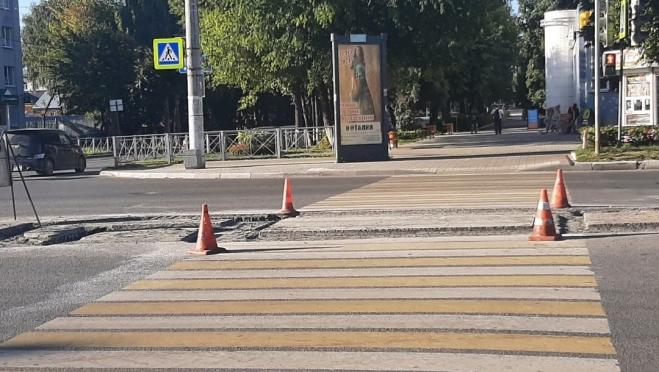 На пешеходных переходах Йошкар-Олы появятся «островки безопасности»