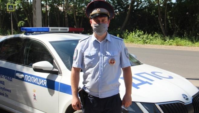 В Йошкар-Оле госавтоинспектор задержал похитителя