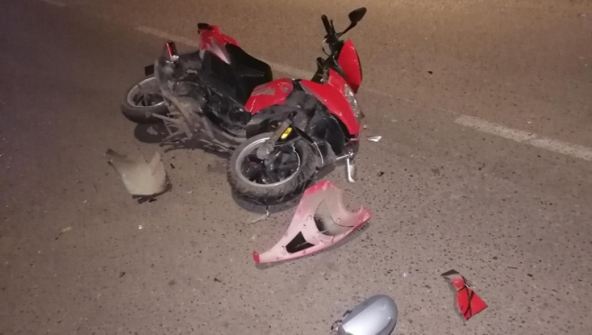 Без прав и шлема: в Волжске несовершеннолетний мопедист попал в аварию