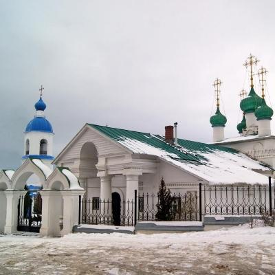Образ храма: Церковь Усекновения Главы Иоанна Предтечи