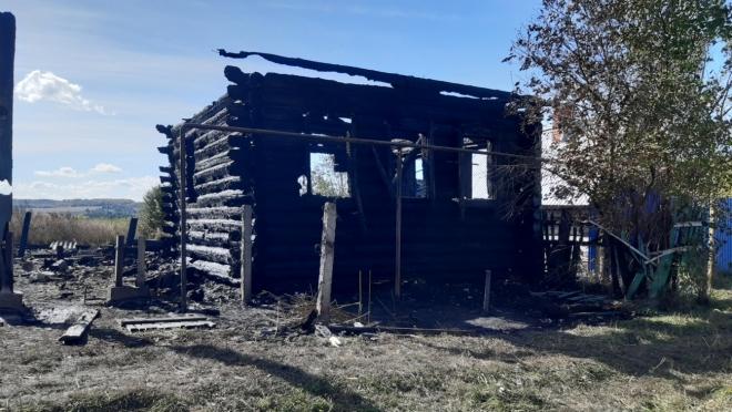 В Волжском районе от огня погиб 49-летний мужчина