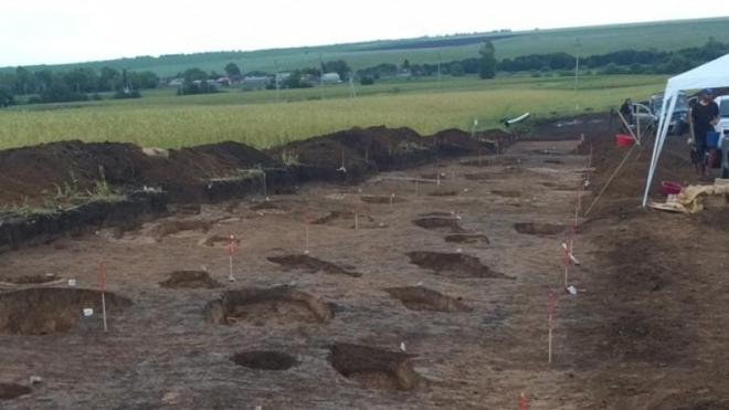 В Татарстане обнаружено древнее захоронение