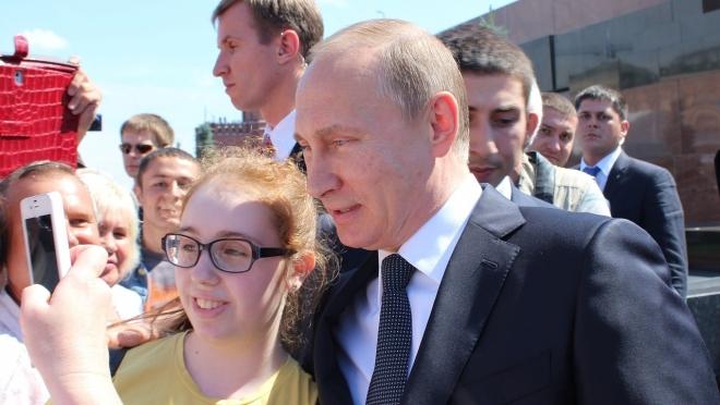 Какими словами вы могли бы обозначить своё отношение к Владимиру Путину