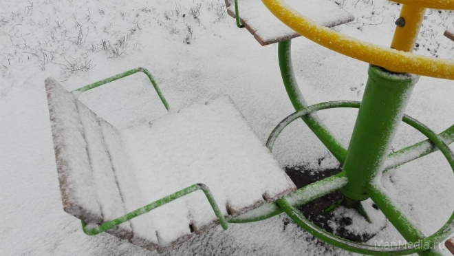 В Марий Эл идёт снежный циклон
