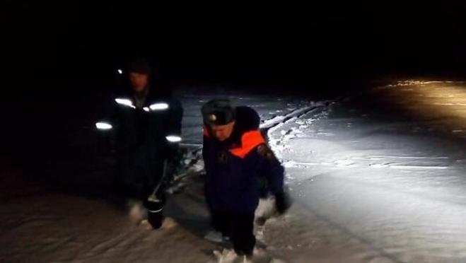 Спасатели Татарстана помогли заблудившимся рыбакам из Йошкар-Олы