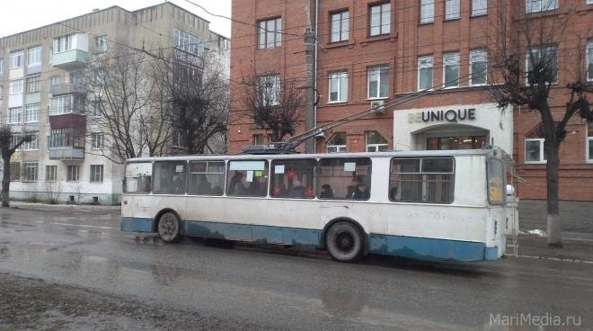 Йошкар-олинский троллейбус меняет режим работы