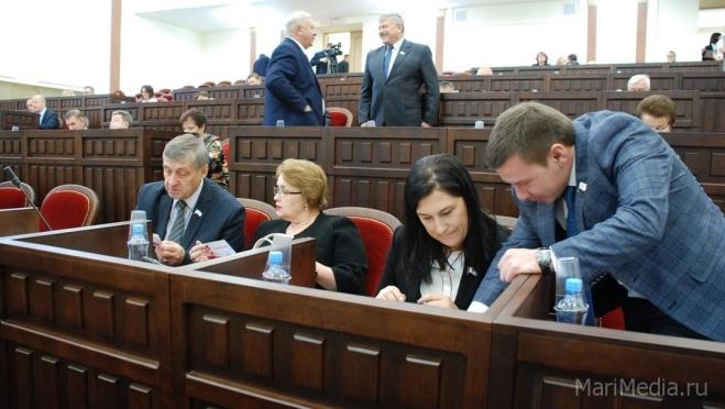 Парламентарии Марий Эл соберутся на VIII сессию Госсобрания