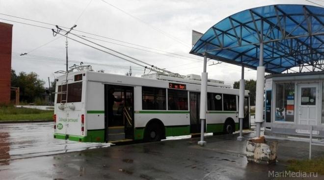 В Йошкар-Оле троллейбусы №6 и №11 изменят маршрут на целый день