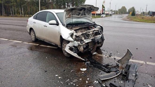 Машина из Татарстана попала в ДТП в Марий Эл