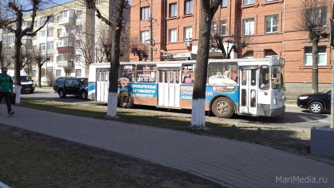 Репетиция парада внесла коррективы в маршрут движения троллейбусов