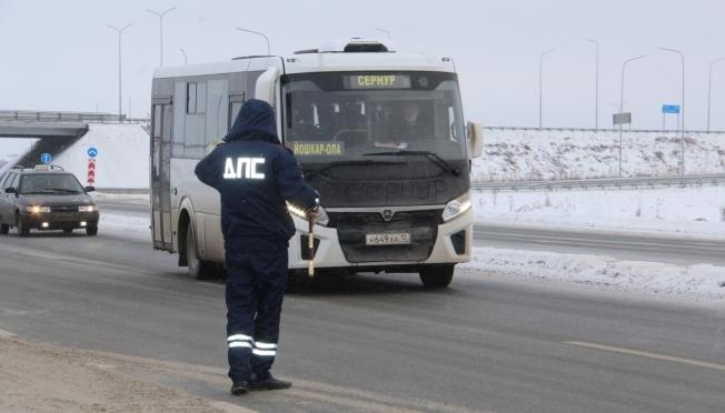 Операция «Безопасный автобус» стартовала в Марий Эл