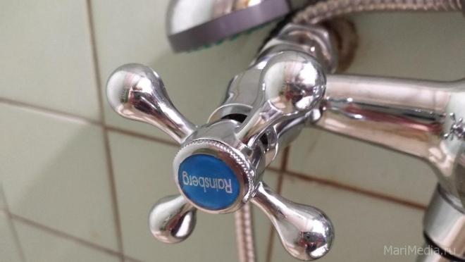 В понедельник в микрорайоне «Октябрьский» не будет холодной воды