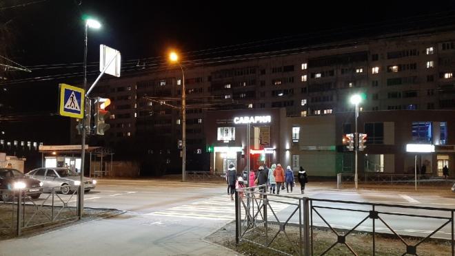 13 пешеходных переходов Йошкар-Олы получили новый свет